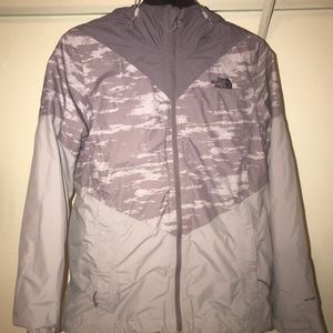 Two Layer North Face Rain Jacket